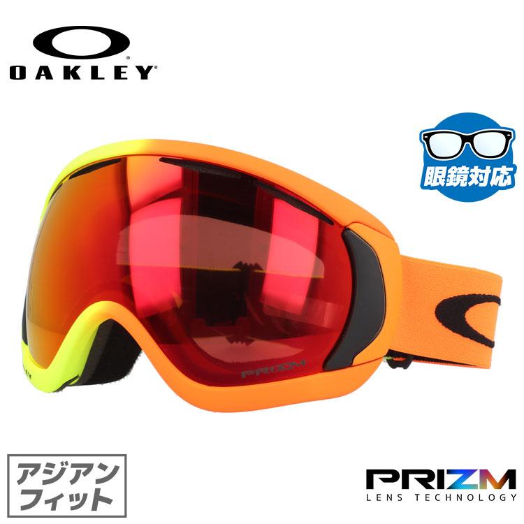 オークリー ゴーグル 限定モデル キャノピー プリズム ミラーレンズ アジアンフィット OAKLEY CANOPY OO7081-23 シグネチャー ユニセックス メンズ レディース スキーゴーグル スノーボードゴーグル スノボ