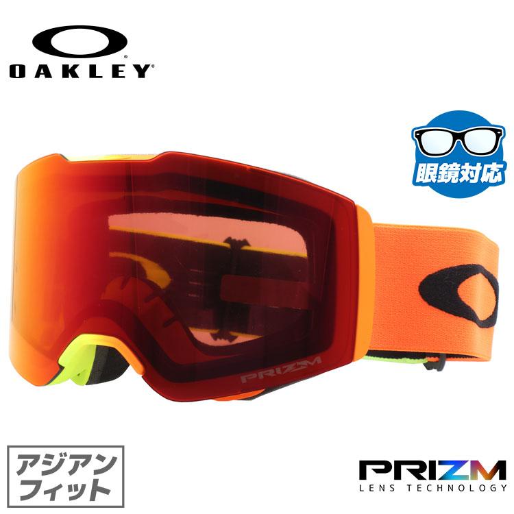 オークリー ゴーグル 限定モデル フォールライン プリズム ミラーレンズ アジアンフィット OAKLEY FALL LINE OO7086-12 シグネチャー ユニセックス メンズ レディース スキーゴーグル スノーボードゴーグル スノボ