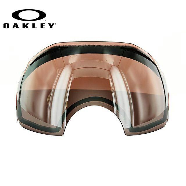 オークリー スノーゴーグル OAKLEY エアブレイク Airbrake 03-010 Black Rose Iridium Replacement Lens リプレイスメント レンズ 交換用レンズ 替えレンズ スペアレンズ ミラーレンズ スキー スノーボード オークレー UVカット