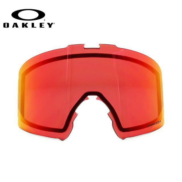 オークリー ゴーグル交換レンズ ラインマイナー プリズム ミラーレンズ OAKLEY LINE MINER 101-643-009 リプレイスメント UVカット ウィンタースポーツ スキーゴーグル スノーボードゴーグル スノボ