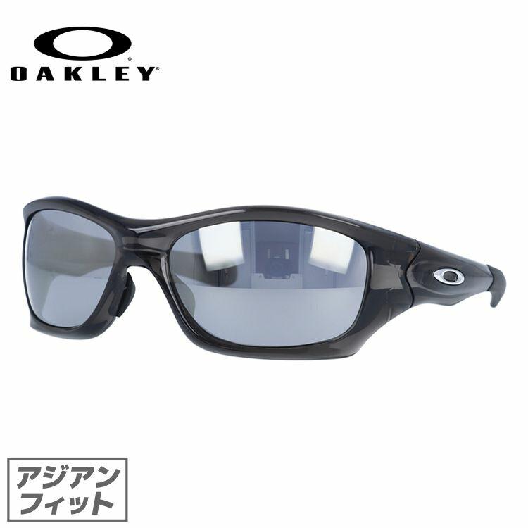 国内正規品 保証書付き オークリー サングラス OAKLEY ピットブル PIT BULL oo9161-12 Grey Smoke/Slate Iridium アジアンフィット メンズ スポーツ オークレー UVカット ミラーレンズ