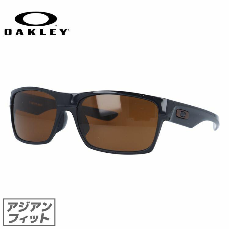 55296b4a48e Oakley Sunglasses OAKLEY twoface Twoface oo9256-02 Polished Black Dark  Bronze Asian fit mens ladies sport eyewear