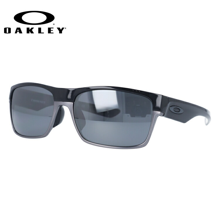 eaf32b96a3 Oakley Sunglasses OAKLEY twoface TWOFACE oo9256-06 Polished Black Black  Iridium Polarized polarized lens Asian fit mens ladies sport eyewear
