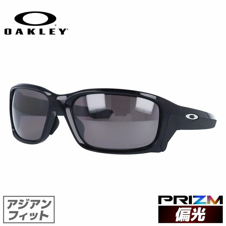 オークリー OAKLEY サングラス ストレートリンク OO9336-04 61 ポリッシュドブラック アジアンフィット STRAIGHTLINK プリズムレンズ 偏光レンズ メンズ レディース スポーツ アイウェア ミラーレンズ