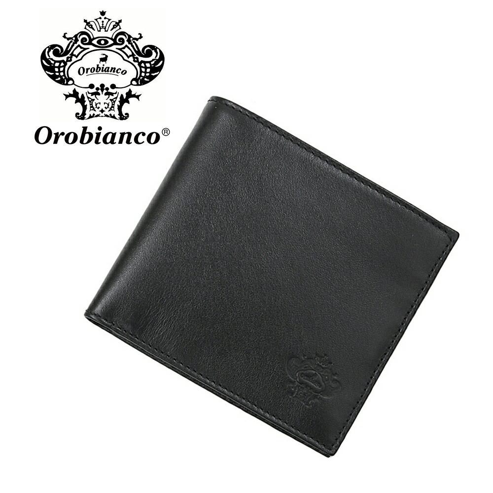 オロビアンコ 折財布 OROBIANCO PORTAFOGLIO ART 34-I 01VIT-NERO-99 NERO (ブラック) レザー 革