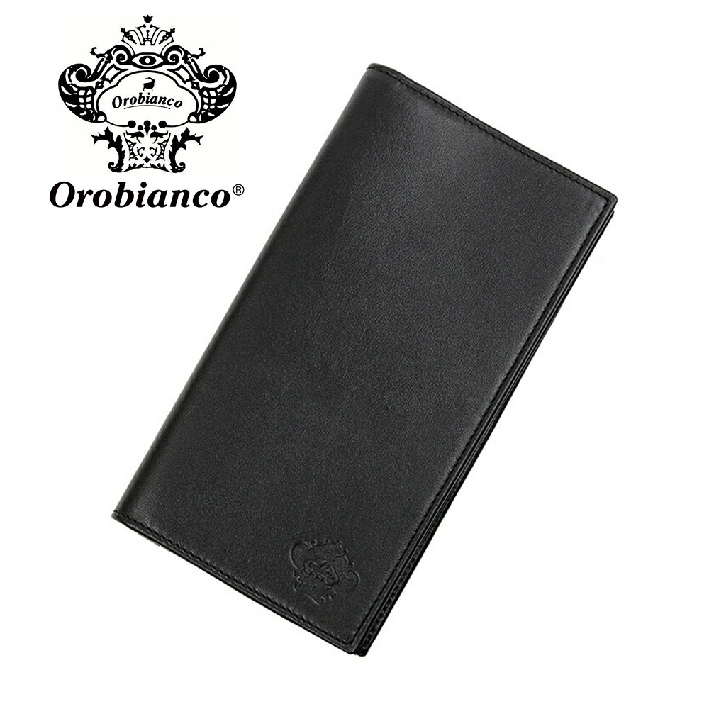オロビアンコ 長財布 OROBIANCO FIDANZIO-I 01 VIT-NERO-99 NERO (ブラック) レザー 革