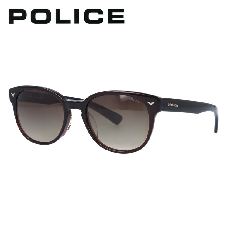 ポリス サングラス アジアンフィット POLICE SPL143I 0958 51サイズ 国内正規品 ボストン ユニセックス メンズ レディース