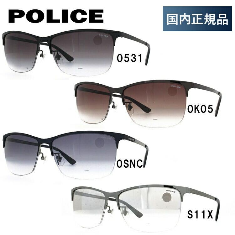 ポリス サングラス 2018 年 新作 ブラックバード アジアンフィット POLICE BLACKBIRD SPL746J 全4カラー 59サイズ 国内正規品 スクエア ユニセックス メンズ レディース