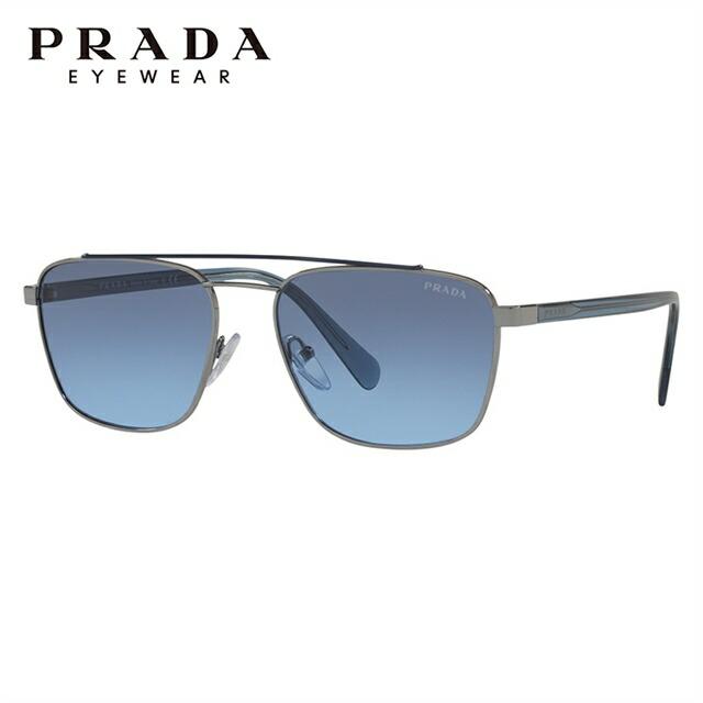 プラダ サングラス 2018年新作 レギュラーフィット PRADA PR 61US SWW251 59サイズ 国内正規品 スクエア ユニセックス メンズ レディース