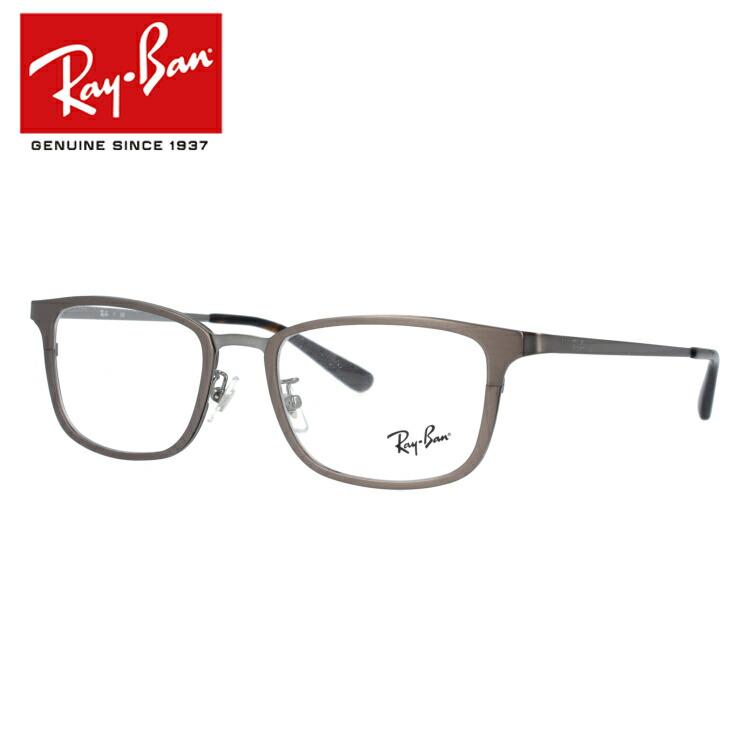 【選べる無料レンズ → PCレンズ・伊達レンズ・老眼鏡レンズ・カラーレンズ】 国内正規品 レイバン メガネフレーム Ray-Ban RX6373D 2895(RB6373D) 52 ガンメタル/トータス フルフィット(アジアンフィット) メンズ レディース アイウェア