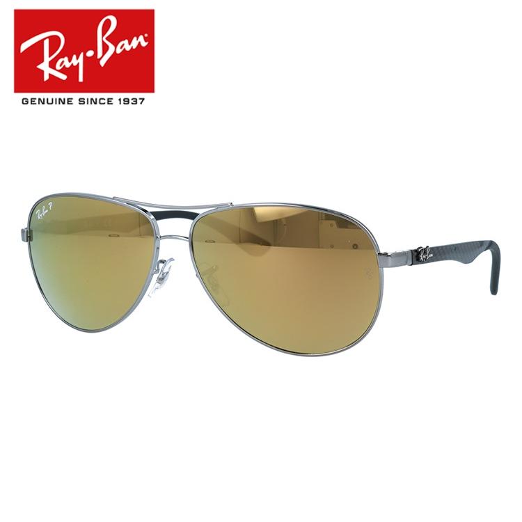 国内正規品 レイバン Ray-Ban サングラス RAYBAN テック カーボンファイバー TECH CARBON FIBRE RB8313 004/N3 61 シルバー/ピンクミラーポラライズド 偏光レンズ メンズ レディース UVカット