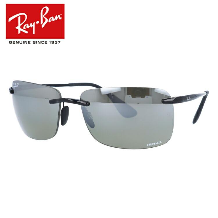 国内正規品 レイバン Ray-Ban サングラス クロマンス RB4255 601/5J 60 ブラック 調整可能ノーズパッド Chromance 偏光レンズ ミラーレンズ メンズ レディース アイウェア