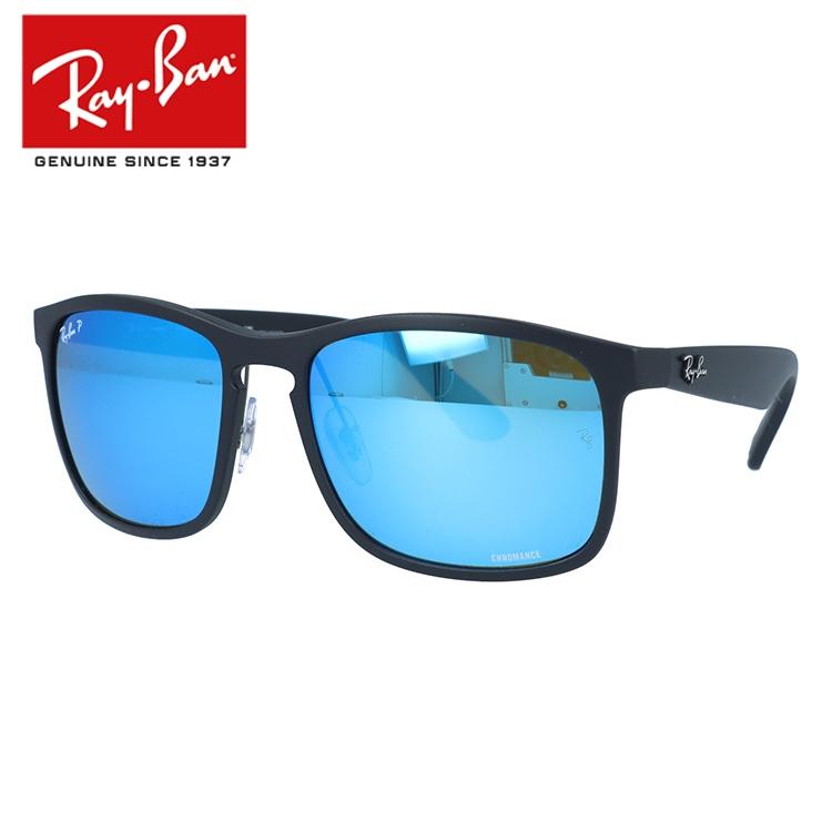 【海外正規品】レイバン Ray-Ban サングラス クロマンス RB4264 601SA1 58 マットブラック 調整可能ノーズパッド Chromance 偏光レンズ ミラーレンズ メンズ レディース アイウェア