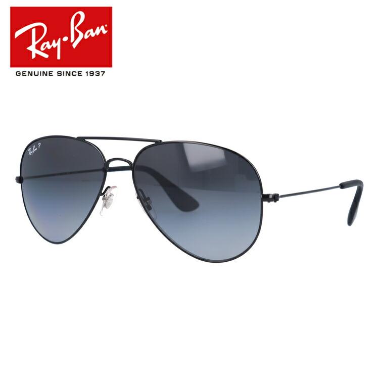レイバン Ray-Ban サングラス RB3558 002/T3 58 ブラック 調整可能ノーズパッド 偏光レンズ メンズ レディース アイウェア 【国内正規品/保証書付き】