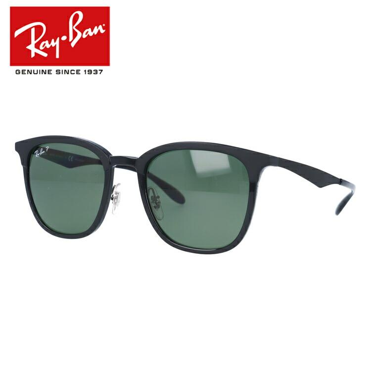 国内正規品 レイバン Ray-Ban サングラス 偏光サングラス RB4278 62829A 51サイズ ブロー ユニセックス メンズ レディース
