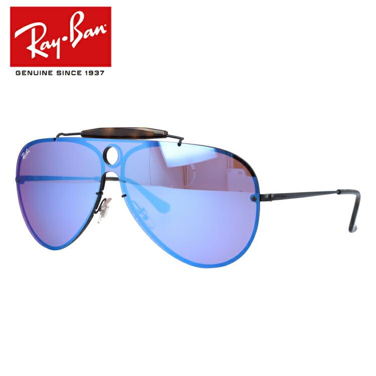 レイバン Ray-Ban サングラス ブレイズシューター ミラーレンズ BLAZE SHOOTER RB3581N 153/7V 132サイズ ティアドロップ ユニセックス メンズ レディース シールドレンズ(一枚レンズ) 【国内正規品/保証書付き】
