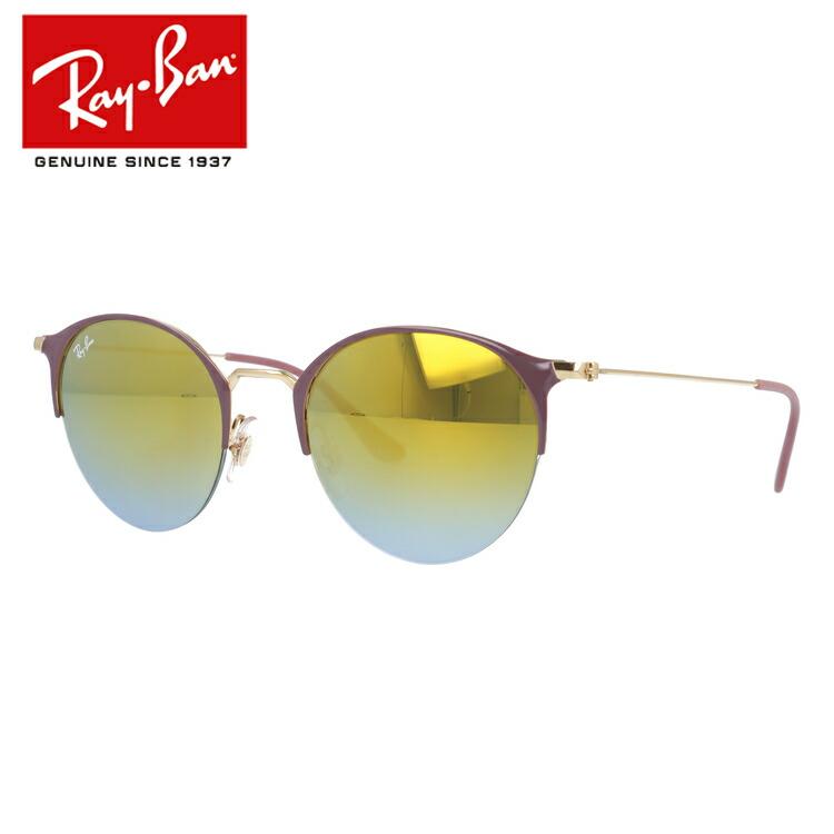 国内正規品 レイバン Ray-Ban サングラス ミラーレンズ RB3578 9011A7 50サイズ ラウンド ユニセックス メンズ レディース