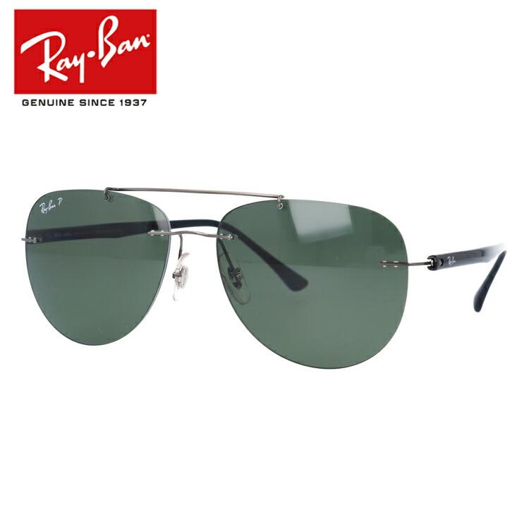 国内正規品 レイバン サングラス 偏光サングラス Ray-Ban RB8059 004/9A 57サイズ ティアドロップ ユニセックス メンズ レディース