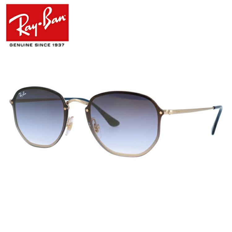 レイバン サングラス 2018年新作 ブレイズヘキサゴナル ミラーレンズ Ray-Ban BLAZE HEXAGONAL RB3579N 91400S 58サイズ 国内正規品 レクタングル ユニセックス メンズ レディース