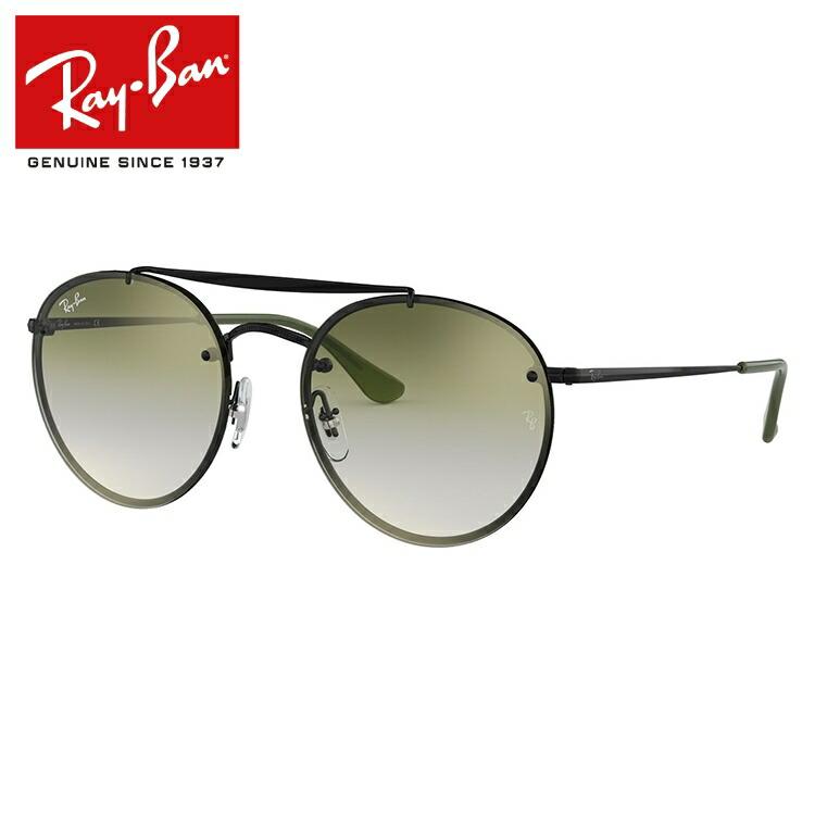 レイバン サングラス 2019新作 ブレイズラウンドダブルブリッジ ミラーレンズ Ray-Ban BLAZE ROUND DOUBLE BRIDGE RB3614N 148/0R 54サイズ 国内正規品 ボストン(ダブルブリッジ) メンズ レディース