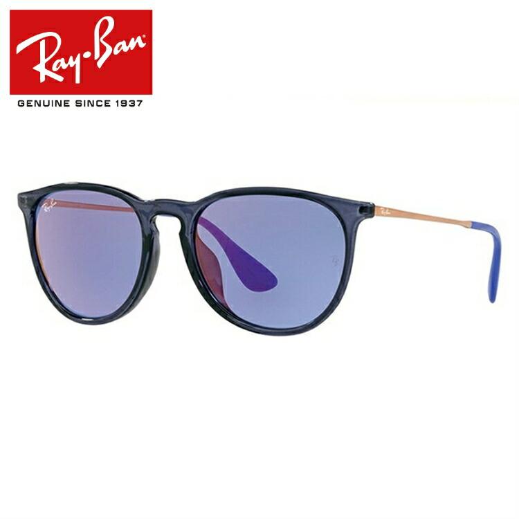 国内正規品 レイバン サングラス エリカ ミラーレンズ フルフィット(アジアンフィット) Ray-Ban ERIKA RB4171F 6338D1 54/57サイズ ボストン レディース