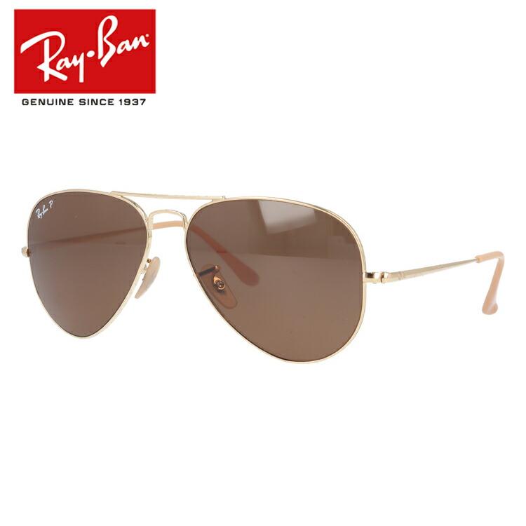 レイバン サングラス 2019新作 偏光サングラス Ray-Ban RB3689 9064/47 55/58サイズ 国内正規品 ティアドロップ(ダブルブリッジ) メンズ レディース