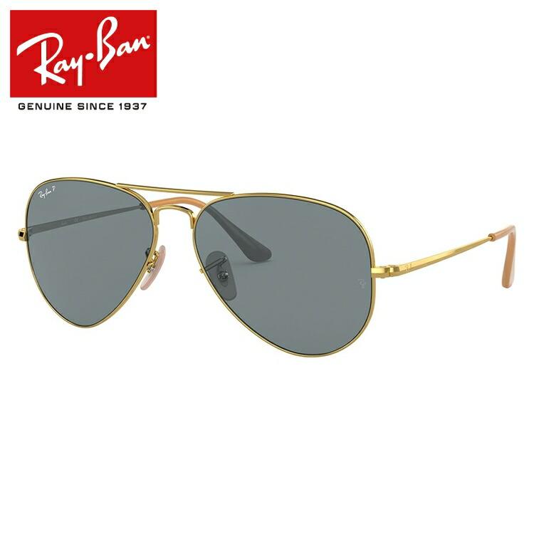 レイバン サングラス 2019新作 偏光サングラス Ray-Ban RB3689 9064/S2 55/58サイズ 国内正規品 ティアドロップ(ダブルブリッジ) メンズ レディース