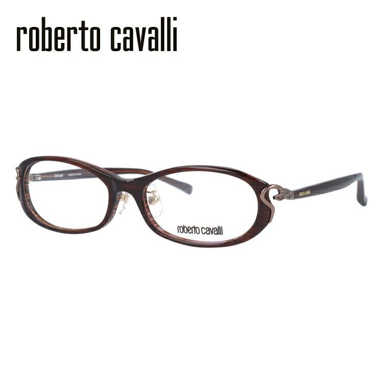 【選べる無料レンズ → PCレンズ・伊達レンズ・老眼鏡レンズ・カラーレンズ】 Roberto Cavalli ロベルト カバリ メガネフレーム RC0603-2 52サイズ セル/ラウンド/レディース