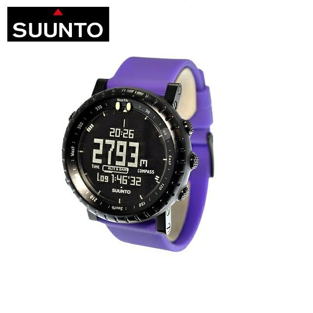 【マラソン期間中★ポイント20倍】スント SUUNTO 腕時計 CORE VIOLET CRUSH SS019167000 ウォッチ メンズ レディース 国内正規品