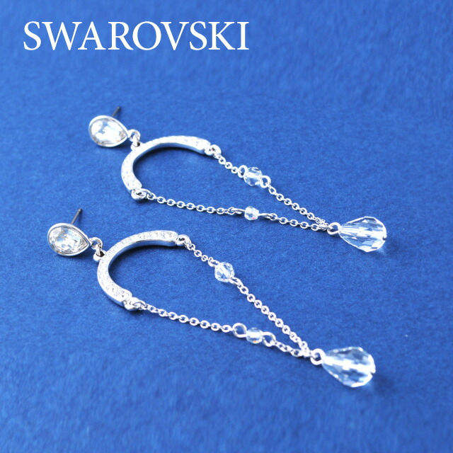 SWAROVSKI スワロフスキー社 レディースジュエリー・アクセサリー ピアス1070046PE MARLLEN スワロフスキ クリスタル ガラス