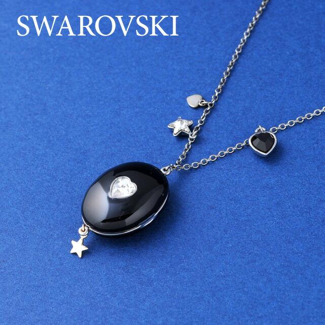 SWAROVSKI スワロフスキー社 レディースジュエリー・アクセサリー ネックレス MAGIC BLACK PENDANT マジック ブラック ペンダント 1074096 スワロフスキ クリスタル ガラス