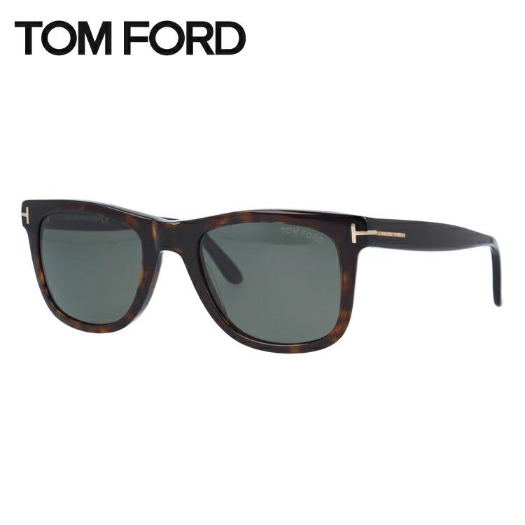 【マラソン期間ポイント5倍】トムフォード サングラス レオ 偏光サングラス TOM FORD Leo TF0336 56R 52サイズ (FT0336) ウェリントン ユニセックス メンズ レディース 新品