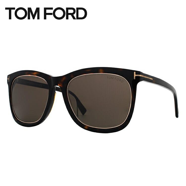 トムフォード サングラス アジアンフィット TOM FORD TF0415D(FT0415D) 56E 57サイズ ウェリントン ユニセックス メンズ レディース
