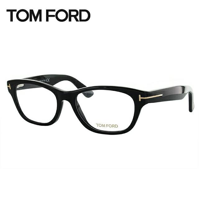 【選べる無料レンズ → PCレンズ・伊達レンズ・老眼鏡レンズ・カラーレンズ】 トムフォード メガネフレーム トム・フォード レギュラーフィット TOM FORD TF5425 001 53サイズ(FT5425) スクエア ユニセックス メンズ レディース ダテメガネ ブランドメガネ 紫外線対策