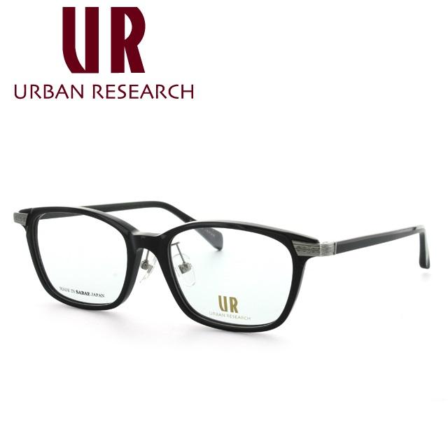 アーバンリサーチ メガネ 伊達レンズ無料 0円 メガネフレーム URBAN RESEARCH URF7001J-1 53サイズ 調整可能ノーズパッド メンズ レディース