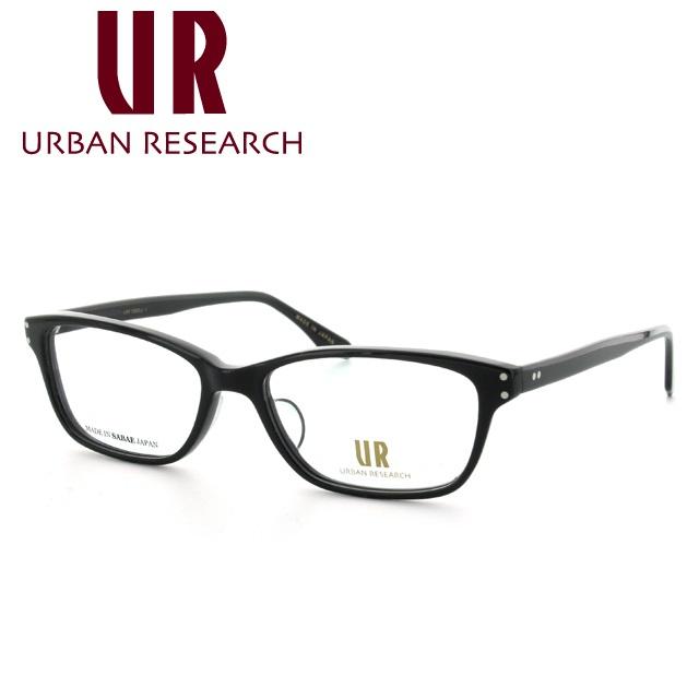 アーバンリサーチ メガネ 伊達レンズ無料 0円 メガネフレーム URBAN RESEARCH URF7005J-1 53サイズ アジアンフィット メンズ レディース