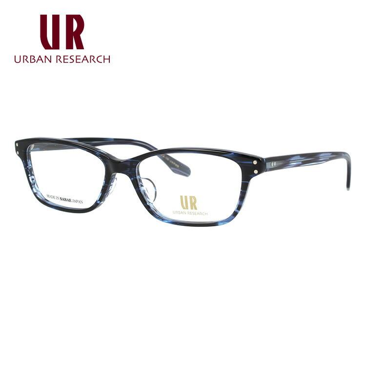 アーバンリサーチ メガネフレーム 伊達メガネ アジアンフィット URBAN RESERCH URF7005J 5 53サイズ スクエア ユニセックス メンズ レディース