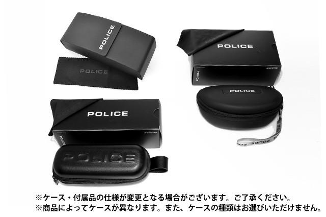 警察太阳眼镜POLICE S8756 0627 CHARGER 1垫子黑色/深灰色人国内正规的物品UV cut