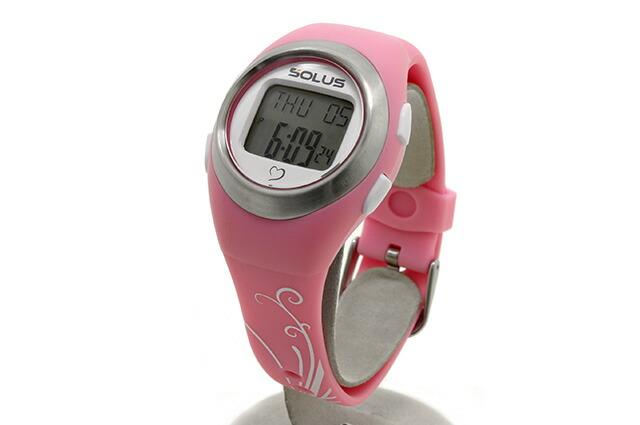 ソーラス SOLUS 腕時計 01-800-07 ピンク メンズ レディース スポーツ ダイエット エクササイズ 国内正規品 【1年保証付き】