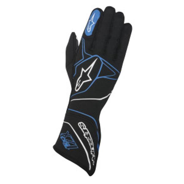ALPINESTARS テック1-ZX グローブ TOP MODEL 17 BLACK FIA8856-2000 BLUE CODE:3550117離島 最新アイテム 物品 沖縄配送不可