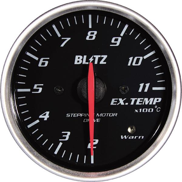 ブリッツ メーター SDメーター φ52 黒 排気温度計 電気式 離島・沖縄:配送不可