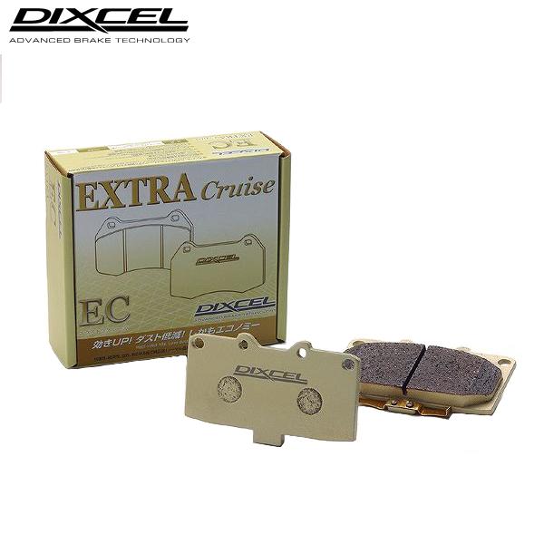 ディクセル ブレーキパッド EC エクストラクルーズ 前後1台分 エスティマ ACR50W 06/01~ 2400~3500 送料無料