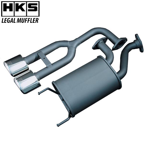 HKS LEGAL マフラー ウェイク DBA-LA700S KF(TURBO) 14/11- 離島・沖縄配送不可