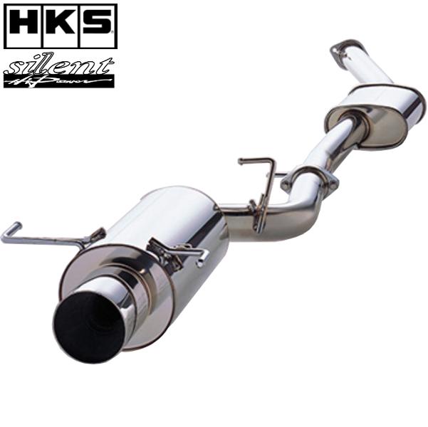 HKS マフラー サイレントハイパワー マフラー インプレッサ E-/GF-GC8 EJ20(TURBO) 92/11-00/07 離島・沖縄配送不可