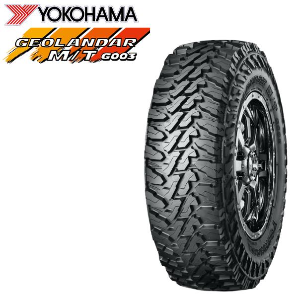 YOKOHAMA タイヤ ジオランダーM/T G003 LT225/65R17 送料無料 離島・沖縄:配送不可