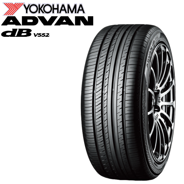 YOKOHAMA タイヤ ADVAN dB V552 245/45R17 2 245/45-17インチ 離島・沖縄配送
