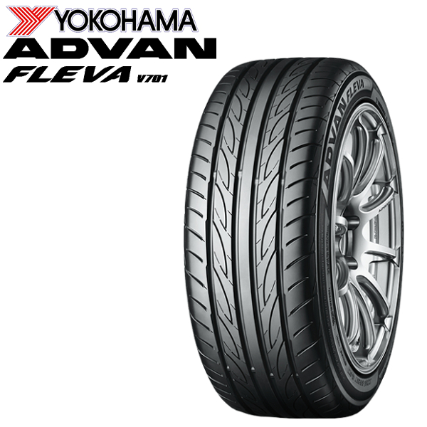 【大放出セール】 YOKOHAMA タイヤ ADVAN FLEVA V701 245/40R20 2 245/40-20インチ離島・沖縄:配送, 激安ランジェリーshop Lアール c11344ec