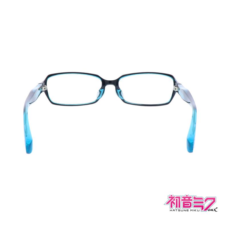 Miku Hatsune Goods PC Glasses Blue Light Cut Made in Japan New
