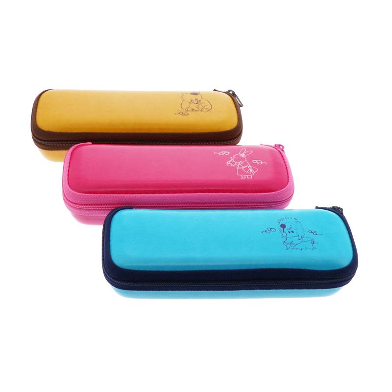 メガネケース まとめ買い特価 森のめがね屋さん セール品 ファスナーケース 人気イラストレーター ももろ YL0623098 PK0623097 BL0623096 オリジナルメガネケース