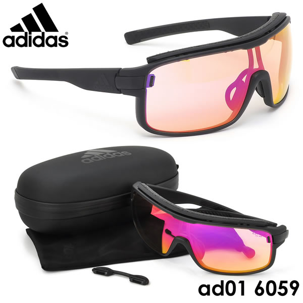 【アディダス】 (adidas) サングラスAD01 6059 ZONYK PRO Lサイズ ゾニックプロ スポーツサングラス アウトドア 調光レンズ Vario ポイント10倍adidas メンズ レディース